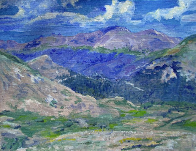 2Rocky Mountains 1 Painting