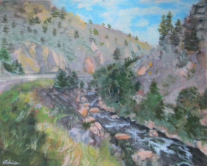 Rocky Mountain Stream 1
